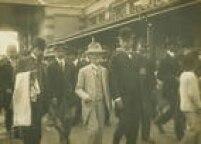 O candidato à Presidência da República pelo Partido Republicano Paulista,<a href='http://https://acervo.estadao.com.br/pagina/#!/19091216-11328-nac-0004-999-4-not/busca/RUY+BARBOSA' target='_blank'>Ruy Barbosa</a>, visita a cidade de Campinas durante sua Campanha Civilista. SP, 21/12/1909.