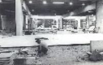 Obras para construção do Terminal Tietê em 1981. Ideia do terminal era substituir a estação Júlio Prestes.