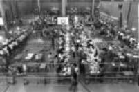 Apuração dos votos do primeiro turno das eleições para o governode SP em 1990. P