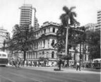 Escola Normal Caetano de Camposem foto de 1954