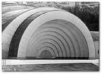 A Concha Acústica do Estádio Municipal Paulo Machado de Carvalho, década de 1960. Acervo/Estadão