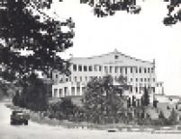 Palácio dos Bandeirantes em 1964, antes do prédio se tornar sede do governo do Estado de São Paulo.