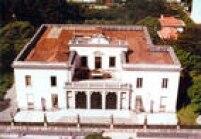Vista da mansão dos Matarazzo, em 1993