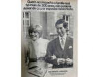 Anúncio das lâminas de barbear Wilkinson publicado na revista Manchete de agosto de 1981.