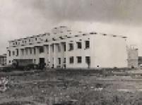 Vista do primeiro pavilhão da Casa de Detenção do Complexo Penitenciário do Carandiru, na zona norte de São Paulo, na década de 50.