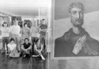 Bardi coma equipe de assistentes do Museu de Arte de São Paulo (MASP) na década de 1970
