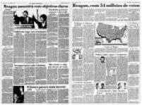 O Estado de S.Paulo de<a href='http://acervo.estadao.com.br/pagina/#!/19801106-32409-nac-0007-999-7-not/busca/Reagan' target='_blank'>06/11/1980</a>e de<a href='http://acervo.estadao.com.br/pagina/#!/19841108-33646-nac-0010-999-10-not' target='_blank'>08/11/1984</a>
