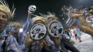 Reprodução de transmissão do carnaval (2013) / Globo