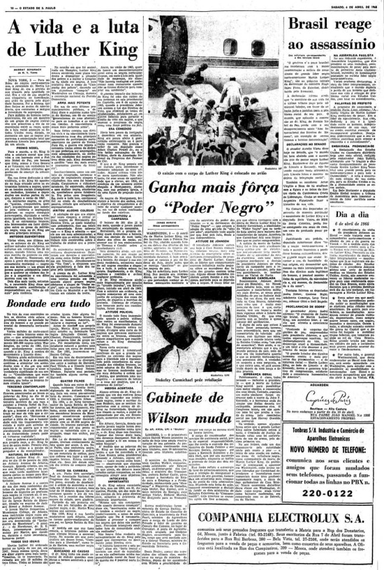 Estadão - 06/4/1968