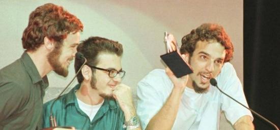 Los Hermanos: gruporevelação e melhor música em premiação noRio em 2000.