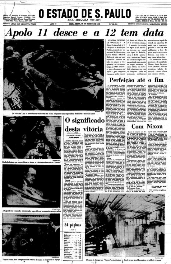 Página de25/7/1969.