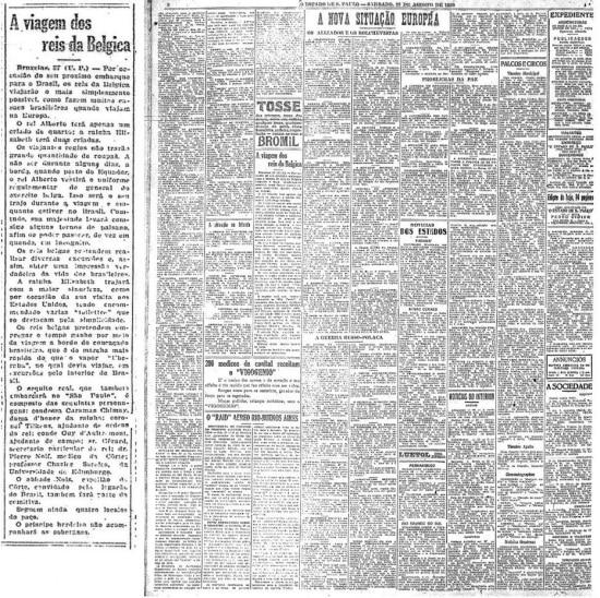 Publicado em 28/8/1920