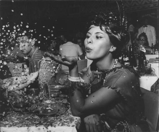 Festa de Carnaval, São Paulo,1961.