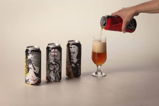 Autoral.Cervejas de linha da Mafiosa, que abriu bar própriona cidade de Valinhos (SP) Foto: Felipe Rau/Estadão