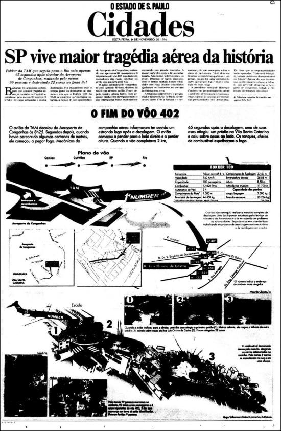 O Estado de S.Paulo - 01/11/1996