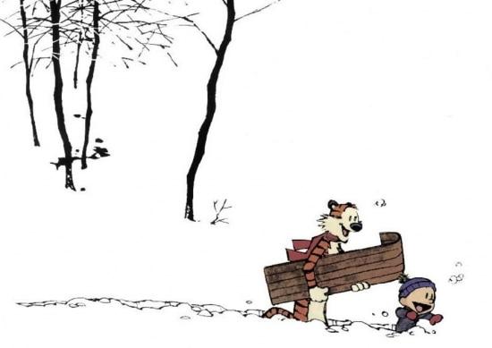 Os personagensCalvin e Haroldocriados por Bill Watterson