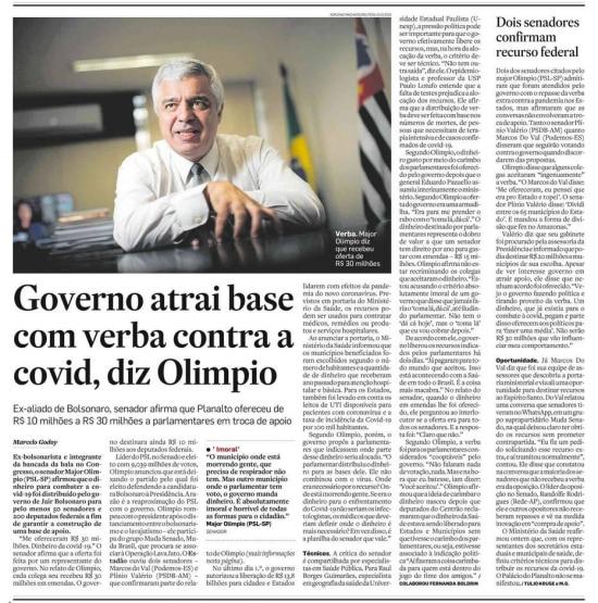 > Estadão - 17/7/2020