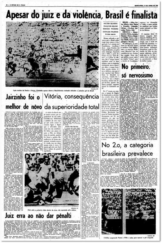 Publicado em 18/6/1970