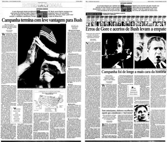 Estadão - 07/11/2000