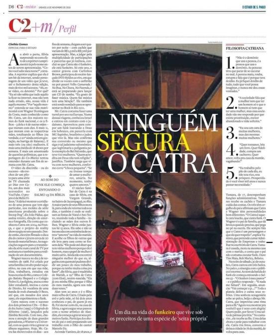 Reportagem de 2010 com o Mr. Catra, que faleceu aos 49 anos.