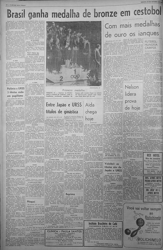 >> O Estado de S.Paulo - 24/10/1964