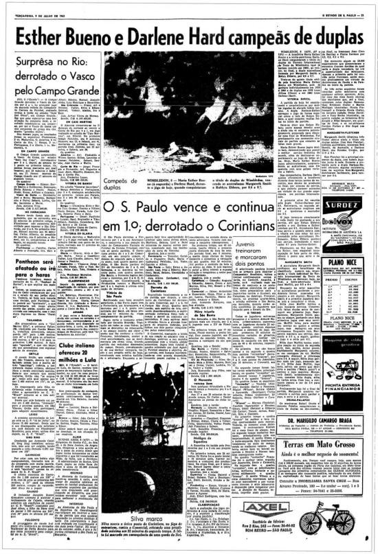 O Estado de S.Paulo - 09/7/1963
