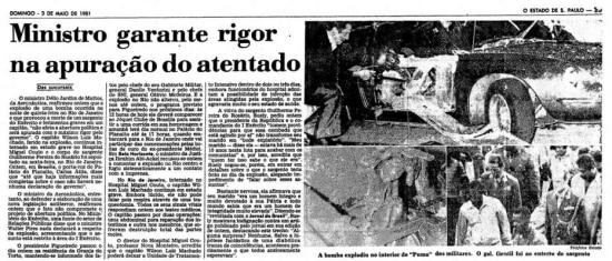 > Estadão - 03/5/1981