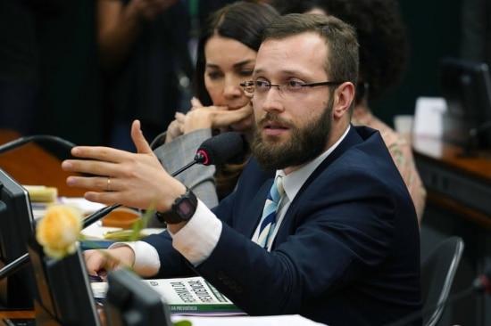 O deputado federal Filipe Barros (PSL-PR)
