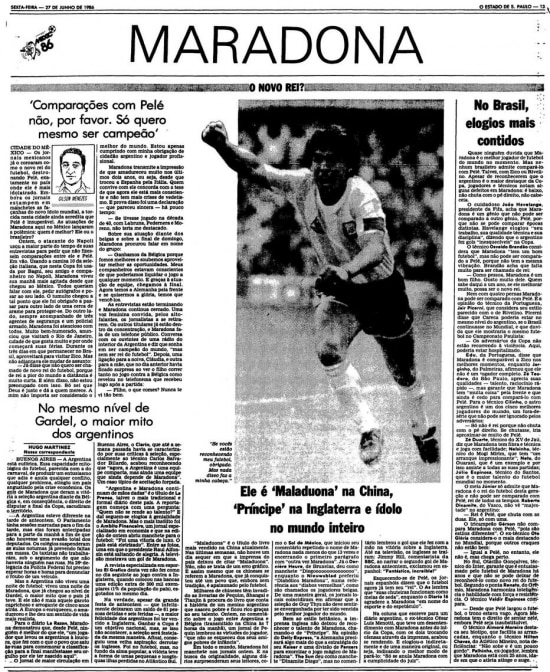 > Estadão - 27/6/1986