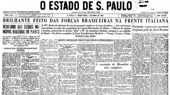 O Estado de S.Paulo - 01/5/1945