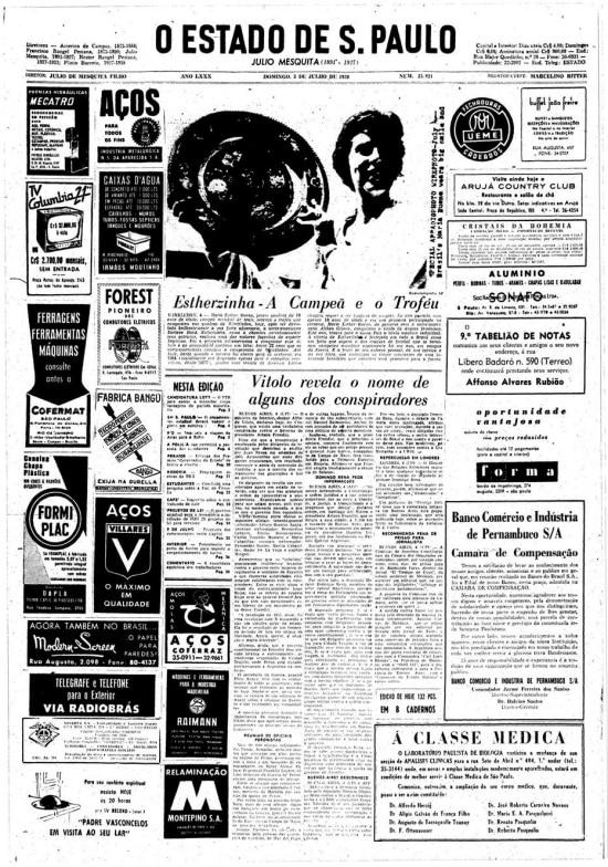 O Estado de S.Paulo - 05/7/1959