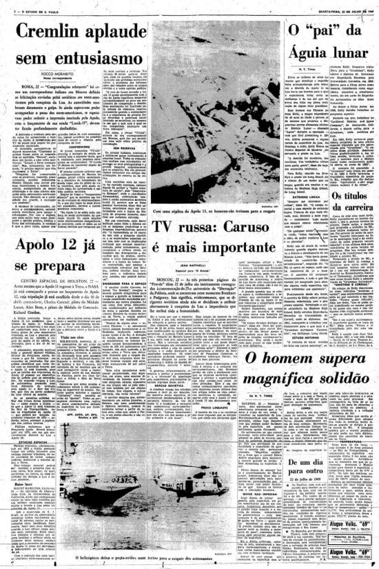 Página de23/7/1969.