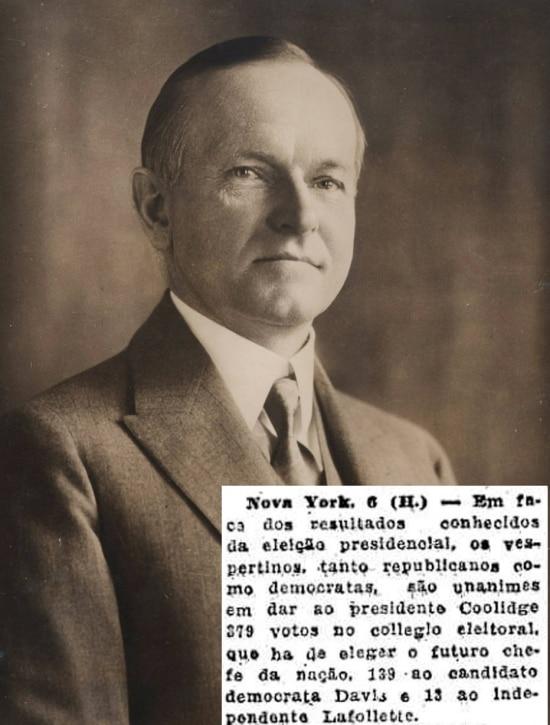Posse: 1923/Eleição: 1924/ Partido: Republicano