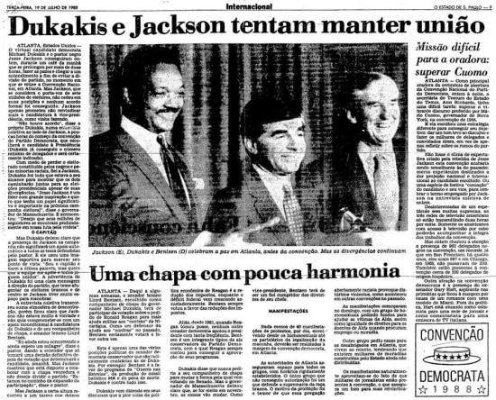 > Estadão - 19/7/1988