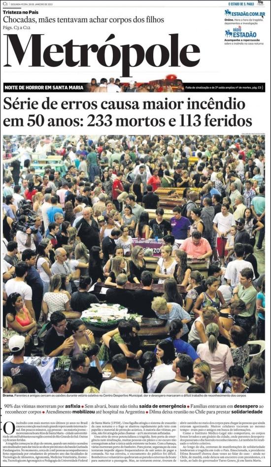 O Estado de S.Paulo - 28/01/2013