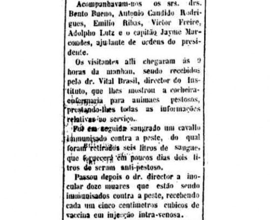 > Estadão - 06/11/1901