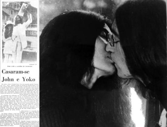 John Lennon e Yoko Ono disseram sim.