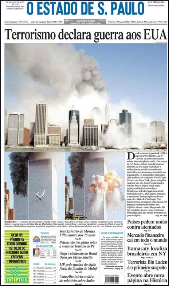 O Estado de S.Paulo - 12/11/2001