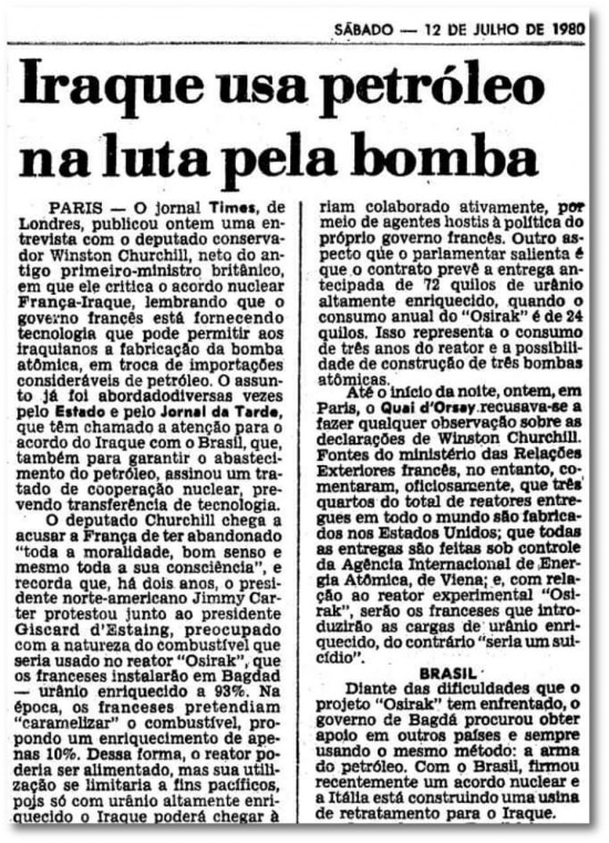O Estado de S.Paulo - 12/07/1980 clique aqui para ver a página