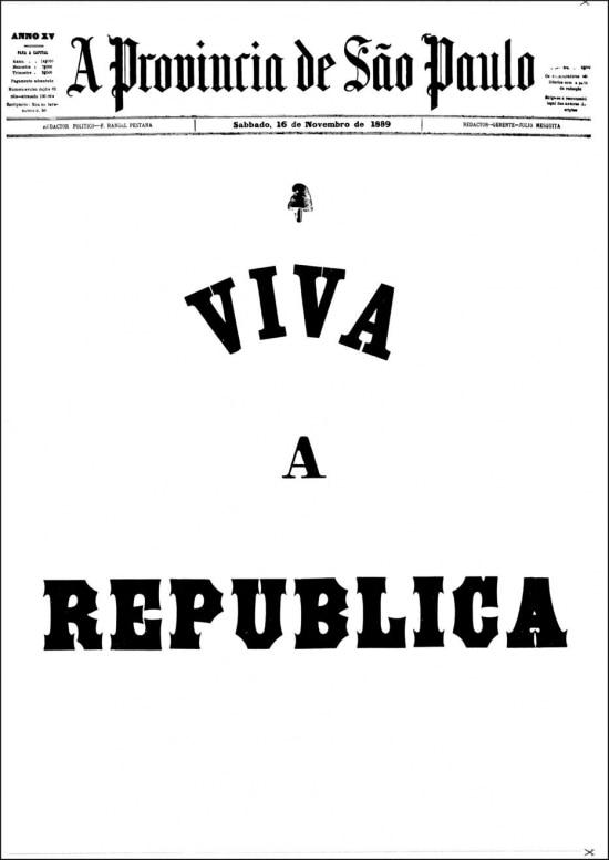 Clique aqui para ver a edição do jornalA Província de São Paulo de 16/11/1889