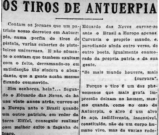 Estadinho, 1920