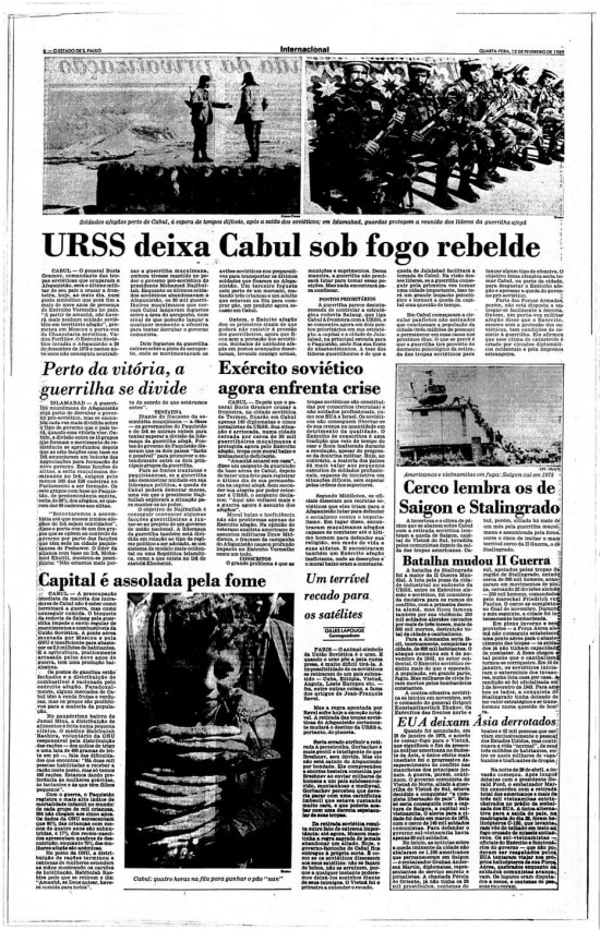 O Estado de S.Paulo- 15/02/1989
