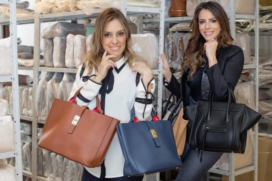 Gabriela e Raissa fundaram a Bolsa150