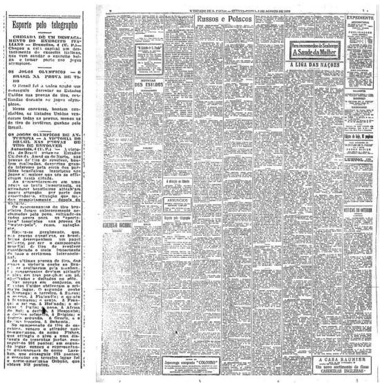 Publicado em 5/8/1920