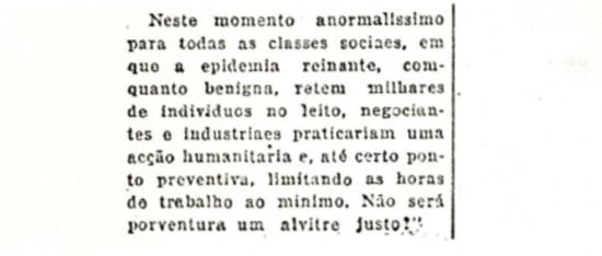 Edição noturna do Estadãode 29/10/1918.