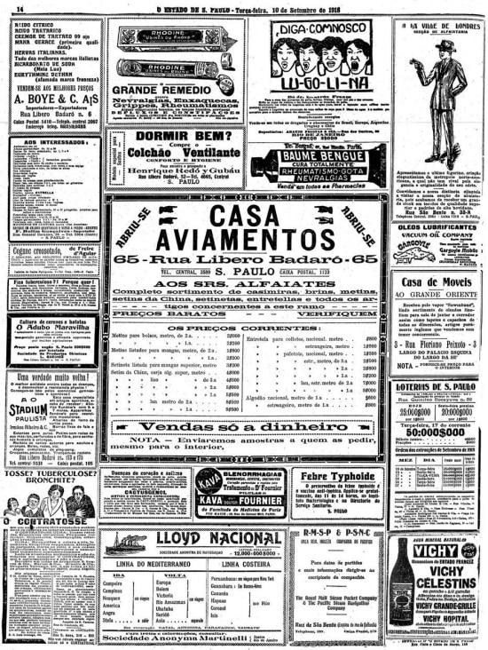 O Estado de S.Paulo - 10/9/1918