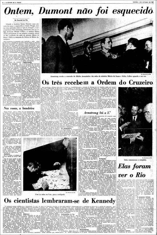 O Estado de S.Paulo - 04/10/1969