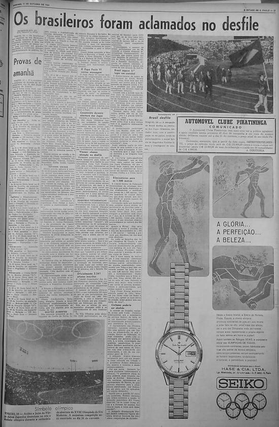 O Estado de S.Paulo - 11/10/1964