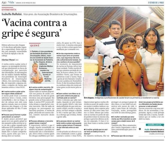 > Estadão- 20/3/2010