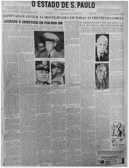 O Estado de S.Paulo - 28/7/1953